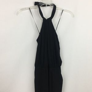Jessica Simpson Jumpsuit Medium Halter Black